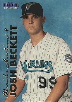 1999 Fleer Update Baseball #U-122 Josh Beckett Rookie Card