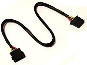 OKGEAR Coolerguys 4-Pin Molex Sleeved Fan Extension Cable (18