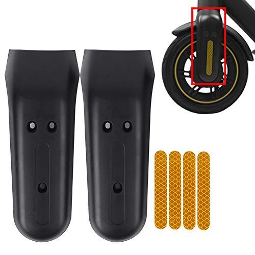 Funda protectora para horquilla delantera de scooter, 2 unidades, con 4 tiras adhesivas reflectantes para horquilla delantera MAX‐G30