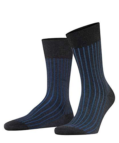 Falke Herren Shadow Socken, Shadow M SO-14648, Grau (Anthracite Melange 3191), 43-44