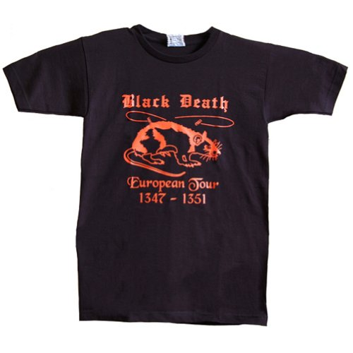 Northern Sun Black Death Tour T-Shirt Medium