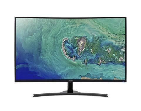 Acer 31.5' Full HD (1920 x 1080) 16:9 144 Hz AMD ED322QR Pbmiipx Black Monitor