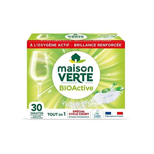 MAISON VERTE - Lave Vaisselle Tablettes Oxyball 30 Lavages - Lot De 3 - Vendu Par Lot