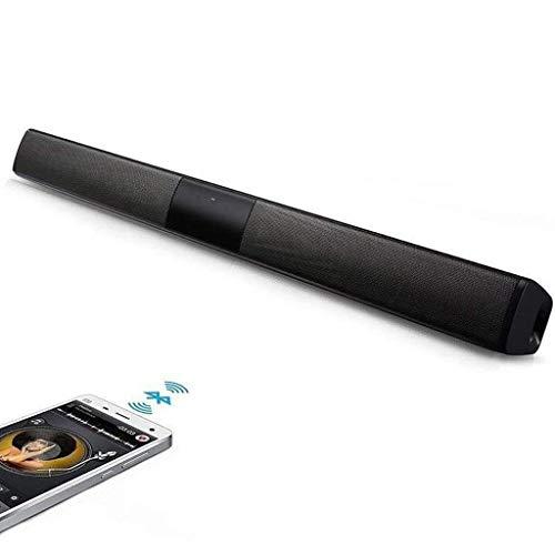 Sound Bar voor TV, Bluetooth 4.2, TV Soundbar met ingebouwde subwoofer, 80 Db, 3D Surround Sound, krachtige bas, Remote, HDMI, USB, Optische AUX coaxiale kabel meegeleverd