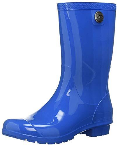 UGG Women's SIENNA Rain Boot, blue aster, 5 M US