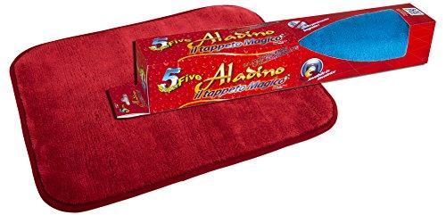 Orlandi Aladino Tappeto Magico, Poliestere, Multicolore, 43x15x7.6 cm, 9 unità