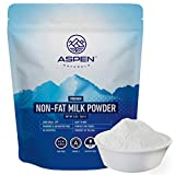 Aspen Naturals NonFat Milk Powder - Non-GMO for Adults and Children, 3 LB - Fat Free Dry Milk Powder with Protein and Calcium - Great for Baking