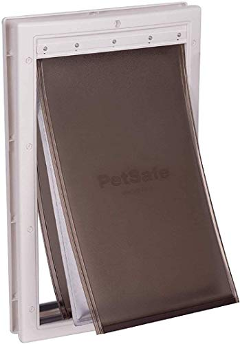 PetSafe Extreme Weather Pet Door Large, Easy Install, Insulating, Weather Proof, Energy Efficient, 3...