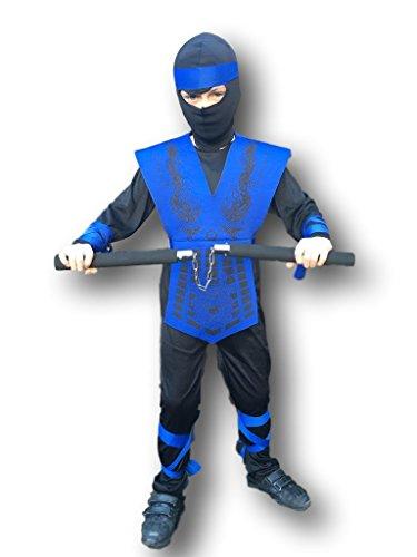 Disfraz de Sub Zero de Mortal Kombat Para Niños, Streetfighter, Ninja