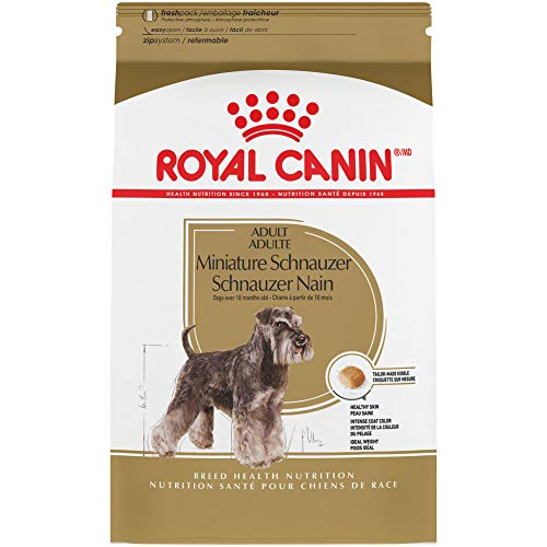Royal Canin Miniature Schnauzer Adult Breed Specific Dry Dog Food, 2.5 lb. bag
