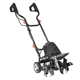 BRAST motobineuse électrique puissante: 1500 Watt – 45 cm largeur, 22 cm profondeur de travail – 24 lames – rotation…