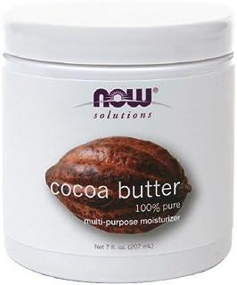 NOW Solutions Cocoa Butter 100% Pure Multi-Purpose Moisturzer 7 fl oz (207 ml)