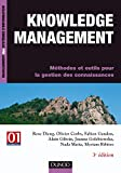 Knowledge management - Méthodes et outils pour la gestion des connaissances