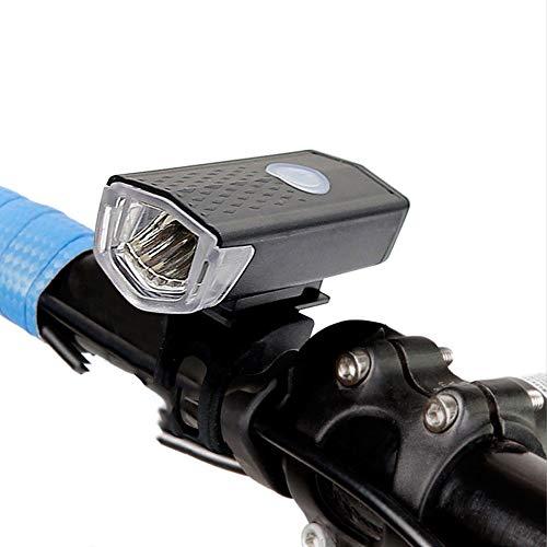 SAHWIN Luz Bicicleta Led Alta Potencia 300 Lúmenes, Luces Bicicleta Recargable USB Delantera con Pantalla, Luz Bici De Montaña 3 Modes Y Luz Bici Trasera