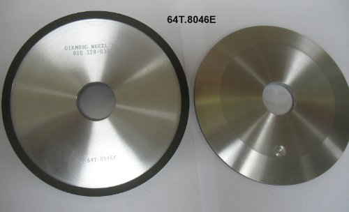 "Diamond Grinding Facing Wheel, 6"" Type 4A2, 180 Grit for Carbide Circle Saws"
