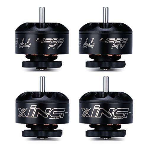 iFlight 4pcs XING-E 1104 4200KV Micro Brushless Motor for 90-130mm FPV Racing Drone Frame Quadcopter