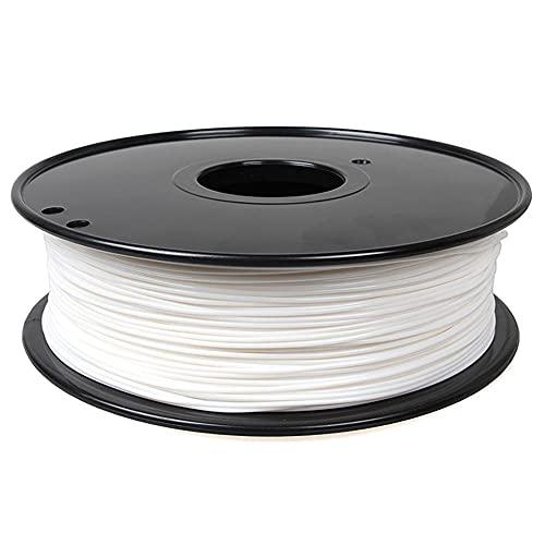 ASA-Filament 1,75mm 3D-Druckerfilament 1kg Spool Anti-Ultraviolett-Material für den Außenbereich Schwarz oder Weiß-Weiß