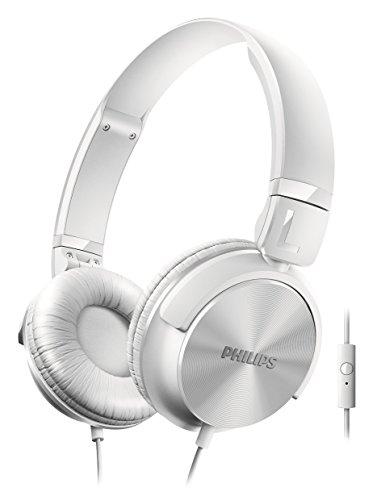 Philips SHL3065WT/00 Kopfhörer mit Mikrofon weiß