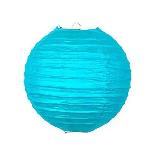 SKYLANTERN Boule Papier 20 cm Turquoise