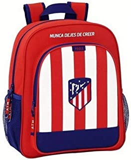 Mochila Escolar Junior Atlético De Madrid Oficial 320x120x380mm