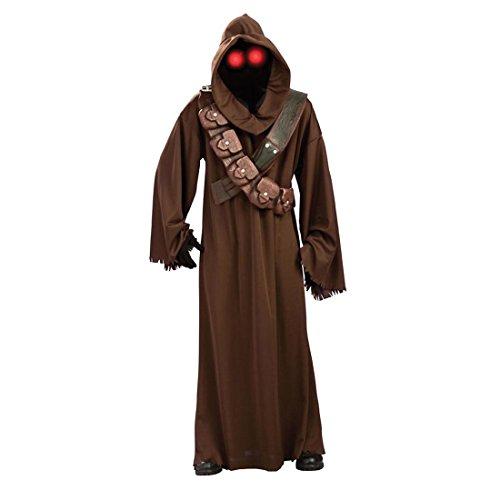 Original Star Wars Kostüm Jawa Outfit Herrenkostüm Starwars Karnevalskostüm Filmkostüm Lizenzkostüm M/L 48 52