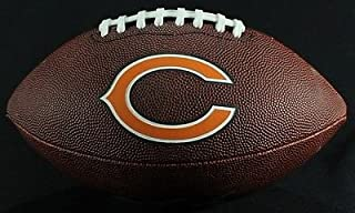 Brian Urlacher Signed Full Size Bears Logo Football Schwartz Signing