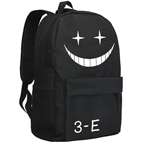 Cosstars Assassination Classroom Leuchtend Anime Rucksack Schulrucksack Backpack Daypack Schultasche