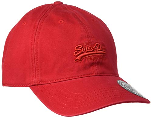 Superdry Orange Label Cap Gorra de béisbol, Rojo (Solar Red LEZ), OS para Hombre