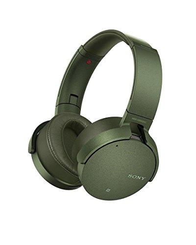 ソニー ワイヤレスノイズキャンセリングヘッドホン 重低音モデル MDR-XB950N1 : Bluetooth/専用スマホアプリ対応 360 Reality Audio認定モデル グリーン MDR-XB950N1 G
