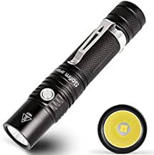Sofirn New SP32A Powerful LED Flashlight 18650 Flashlight XP-L2 1500lm High Power Two Groups Light Torch Stepless Dimming ...