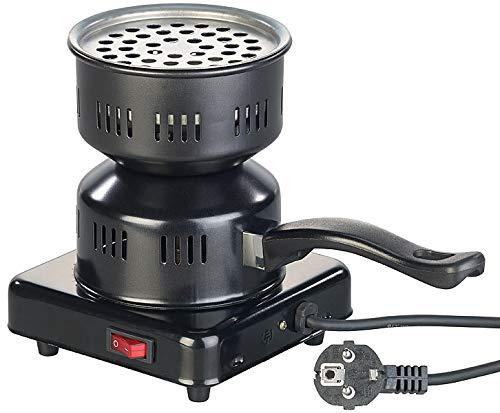 Duvence Kohleanzünder: Elektrischer Kohle-Anzünder für Shisha, mit Tragegriff, 450 Watt (Shisha Kohleanzünder)