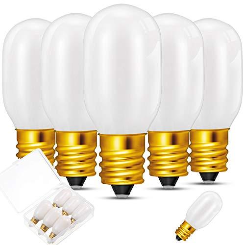 Honoson Christmas Replacement Light Bulb 6 W Replacement Bulbs Accessory for Christmas Village Style Accessories (6 Pieces)