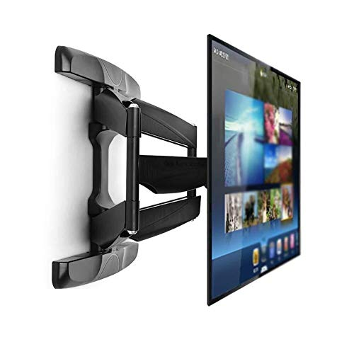 LILIS Table Top TV Stand 42-70' TV Wall Mount Bracket,Telescopic Arm,+12°/-2° Tilt and 75° Swivel +/-3° Level for LED, LCD, 3D, Curved, OLED, Plasma, Flat Screen Televisions