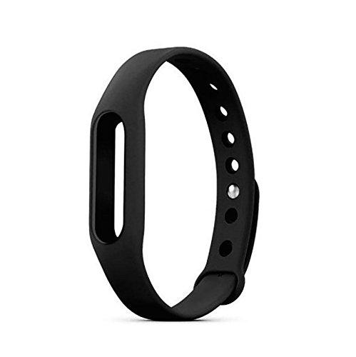 NEO+ - Banda de repuesto para pulsera inalámbrica XIAOMI Mi (sin actividad rastreadora), negro