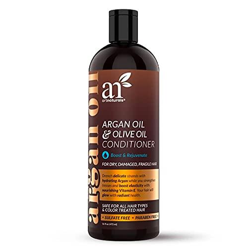 Art Naturals. Acondicionador anticaída con aceite de argán, 473ml
