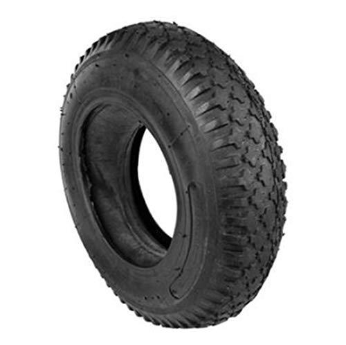 Unbekannt Schubkarre Reifen mit Schlauch Set Ersatzreifen 4.80/4.00-8