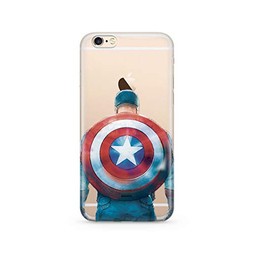 ERT GROUP Original Marvel Captain America TPU Case for iPhone 6, iPhone 6S,...