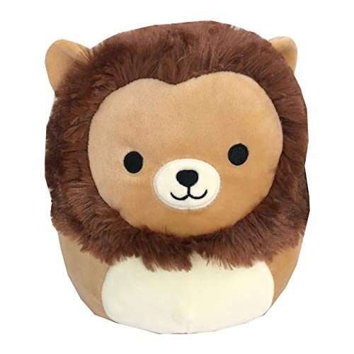 Squishmallow 8 Inch Brown Lion Stuffed Plush Toy