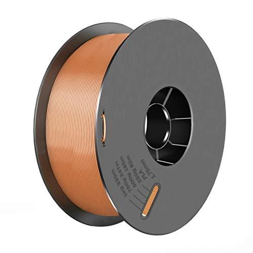 3D-Druckerteile PLA-Filament 1,75mm PLA 1kg pro Roll-PLA-Material für 3D-Druckfilament-PLA-3D-Druckerfilament (Color : Brown)