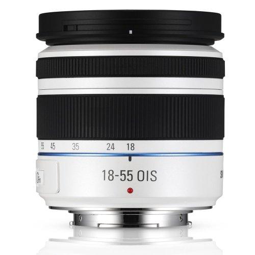 Samsung NX 18-55 mm Zoomobjektiv (weiß)