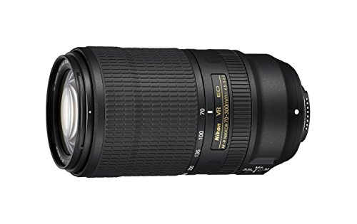 Nikon AF-P NIKKOR 70-300mm f/4.5-5.6E ED VR Lens, Black (Renewed)