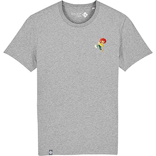 Bavarian Caps Herren Pumuckl T-Shirt, grau