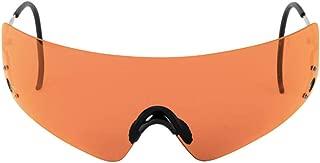 Beretta Adult Dedicated Metal Frame Shooting Glasses; Black Lens