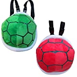 Cute Kids Baby Tortoise Shell Turtle Backpack Plush Bag,Perfect for School or Travel (green)
