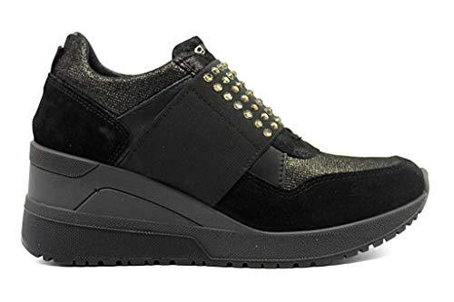 IGIeCO 4143033 Nero Sneakers Scarpe Donna Calzature Casual (40, Nero)