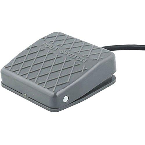 Industrie Fußschalter Fussschalter Fußtaster Trittschalter Fußpedal Schalter 10A 250V IP50 inkl. 1m Zuleitung