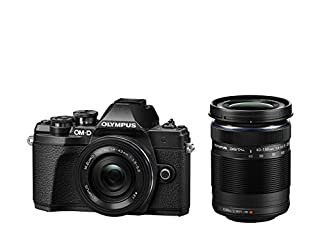 Olympus OM-D E-M10 Mark III Kit, Micro Four Thirds Systemkamera (16 Megapixel, Bildstabilisator, elektronischer Sucher, 4K-Video) + M.Zuiko 14-42mm EZ Zoomobjektiv + M.Zuiko 40-150mm Telezoom, schwarz (B075FGSVTF) | Amazon price tracker / tracking, Amazon price history charts, Amazon price watches, Amazon price drop alerts