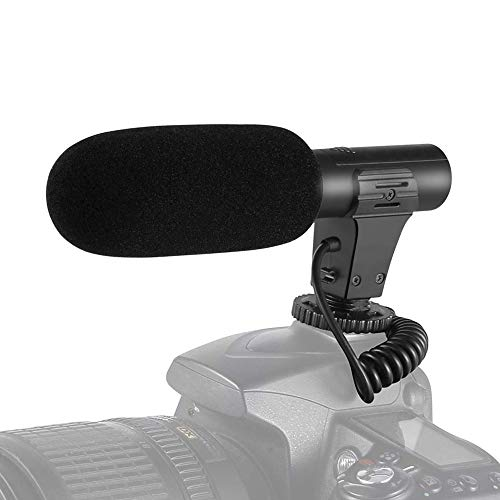I3ePro BP-CMIC1 X-Series Mini Shotgun Condenser Microphone for Sony HDR-CX220 Camcorder Grey