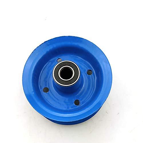 Ruedas neumáticas de aleación de aluminio de 6 pulgadas para ruedas de remolque ruedas ruedas de 6 pulgadas de scooter eléctrico