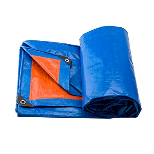 KYSZD-Baches PE Ttarpaulin Rip and Tear Proof Tarpaulin Multi-Purpose All Weather Protection Fit for Garden Chicken Run Pool Cover Outdoor Etc